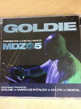 GOLDIE - GOLDIE PRESENTS METALHEADZ MDZ05 - 2 x CD ALBUM - 689788300528