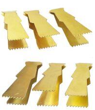 6pcs Dates Pistachio Maamoul Copper Metal Tongs to Decorate 431 ملقط تزيين معمول