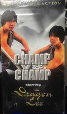 Champ Vs. Champ (VHS) SEALED: 1980 martial arts drama stars Dragon Lee