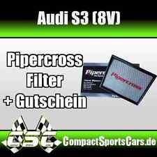 Audi S3 2.0T 8V | 300PS | Pipercross Sportluftfilter/Tauschfilter