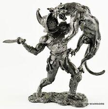Rome. Gladiator. Tin toy soldiers. 75mm 1/23 miniature figurine. metal sculpture