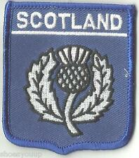 Écosse National Emblème Chardon écusson drapeau monde brodé patch badge