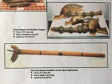 The Badillo Collection Antique C.1850  Rare Kris/Sampak / Moro Wars Memorabilia