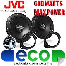 Vauxhall Astra 10-14 JVC 16cm 6.5 Inch 600 Watts 2 Way Front Door Car Speakers