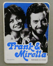 1x Sticker - decal Frank & Mirella with org.back 80/90's (05978)
