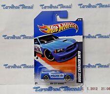 """VHTF!! 2011 Hot Wheels #110 (blue-Police) """"DODGE CHARGER SRT8""""  B5"""