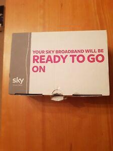 Sky SR102 Black High Speed Broadband Wireless Internet Wi-fi Modem Router Hub