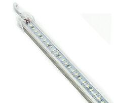 STRISCIA LED BARRA RIGIDA PROFILO ALLUMINIO PLEXIGLASS 1M METRO SMD 4014 114 LED