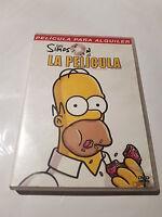 LOS SIMPSON LA PELICULA DVD PELICULA COMPLETA FILM
