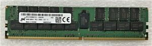 MICRON MTA72ASS8G72LZ-2G6D2 QI 64GB  2666 MT/s MEMORY TESTED