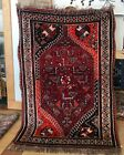 """4'2""""x6' Wool Hand knotted Antique Tribal rug"""