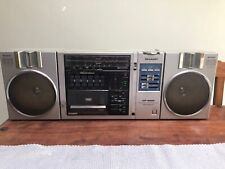 Sharp GF-9500E Radio cassette Player, 80s Boombox Ghettoblaster