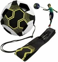 Football Kick Trainer Soccer Solo Training Aid For Kids Adult Equipment Exercise