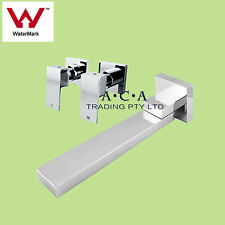 ACA SQUARE BRASS WALL BASIN TOP SET BATH SPOUT BATH/SHOWER ASSEMBLY MIXER TAPS