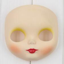 """For RBL 12"""" Neo Blythe Doll White Matte Glossy Skin Takara Blythe Faceplate"""