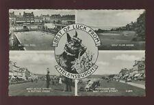 Scotland Dunbartonshire Helensburgh M/view inc Golf Club House 1960s RP PPC
