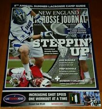 New England LaCrosse Journal Darien, Ct Cover April  2015 NEW