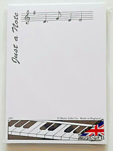 Just a Note A6 Notepad (Music-Themed)