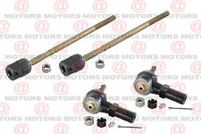 For Ford Tempo 90-94 EV264 ES2153RL Front Left Right Inner Outer Tie Rods 4 Pcs