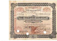 Baldwin Company 1904 U: F.B Baldwin , Wulsin       Piano Bechstein