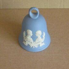 Wedgwood Jasperware Blue Charles & Diana Wedding Bell