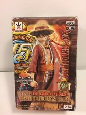 Banpresto One Piece The Grandline Men 15th Ann Monkey D Luffy Figure BOX IS WORN