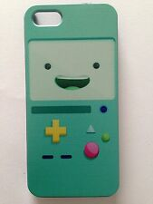 Brand New Iphone 5 or 5S Hard Plastic Adventure Time BMO Phone Cover