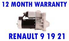 STARTER MOTOR RENAULT 9 19 21 TRAFIC 1.4 1.7 1.8 86 87 88 89 90 91 92 93 94 - 96
