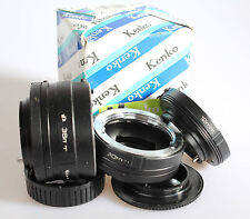 Kenko Automatic Extension Tube Set 36/20/12mm