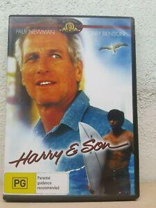 HARRY AND SON DVD 1984 PAUL NEWMAN - ROBBY BENSON - Region All PAL