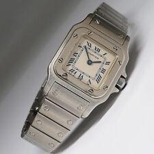Cartier Santos Galbee Damen Quarz Uhr Ref. 1565 in Stahl