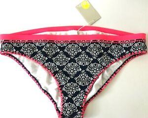 NWT BODEN Women's size Large US 16 UK 20 Bikini Bottom Swim Navy