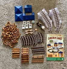 2009 The Original Lincoln Logs Yukon Express #00888 – 246 Pieces, Missing 4