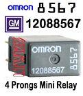 (1)  GM 12088567  Relay OMRON 8567