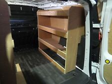 Transit Connect L1 2014 on-wards Off Side Plywood Racking, Van Racking