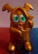 Moshi Monsters Series 3 #M02 FRETTIE FACEMELT GOLD Moshling Mini Figure Mint OOP