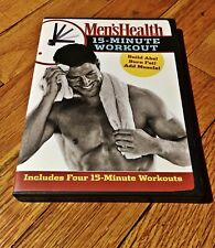 Mens Health - 15 Minute Workout (DVD, 2007)