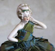 JOLIE MARQUISE, ancienne boite à poudre marquise, porcelaine, BOITE à SECRET