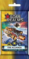 The Alliance Star Realms Command Deck 18 Card Booster White Wizard Games WWG 024