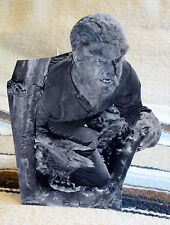 """The Wolf Man - Lon Chaney Jr. Movie Figure Tabletop Display Standee 10"""" Tall"""