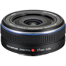 Without Box / Olympus M.Zuiko Digital 17mm F2.8 Lens Black
