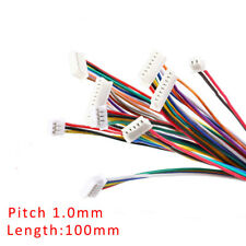 SH1.0mm 2/3/4/5/6/7/8/9/10P Single/Double Head Electronic Connector Cable 100mm