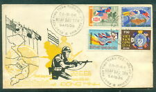 Vietnam South FDC 1968 Army Friendship With Allies