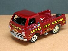 BILL GOLDEN'S LITTLE RED WAGON DODGE COLLECTIBLE 1/64 LIMITED EDIT. WHEELSTANDER