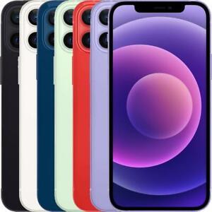 Apple iPhone 12 Mini 64/128/256GB Unlocked Black, White, Red, Green, Blue