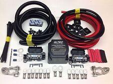 7mtr Split Carga relé Kit 12v 140amp inteligente M-power relé 110amp Cables