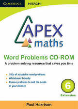 Apex Maths Word Problems CD-ROM 6 Extension by Harrison, Paul