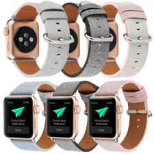 Glitter Bumper Cover Bling Leather Strap for Apple Watch Series 3 2 1 Watch Band