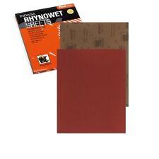 INDASA Schleifpapier Wassschleifpapier Wasserfest 230x280mm RHYNOWET Körnungen