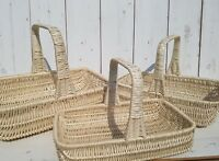 HANDMADE Wicker Display  Basket,Wedding,Flower, present,Gift basket